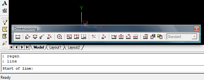 AutoCAD Command Line