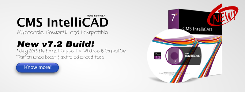 NEW CMS IntelliCAD 7.2