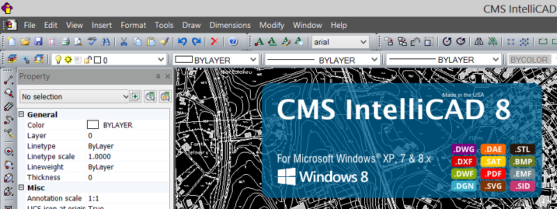 CMS IntelliCAD on windows 8
