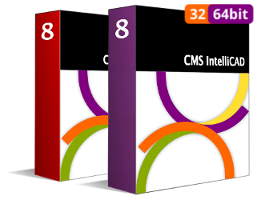 CMS IntelliCAD 8 PE & PE+